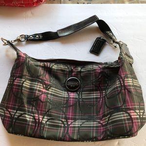 Coach Zipper Top Handbag